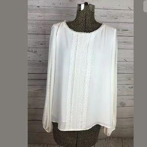 White House black market size 10 blouse